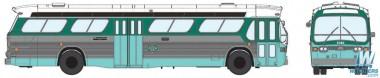Rapido Trains 701026 GMC TDH-5301 Los Angeles (LAMTA)