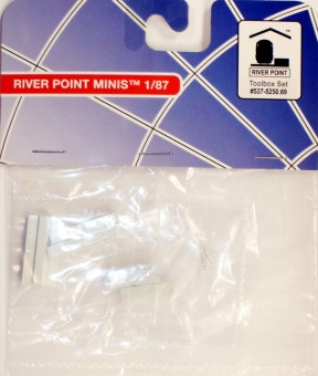 River Point 537525069 White Toolbox Set