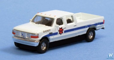 River Point N38L65777 1992 Ford F Series CrewCab Sheriff 2 Stk