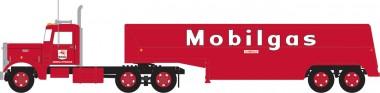 Trainworx 55017 Peterbilt 350 Fuel Tank Truck Mobilgas