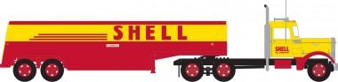 Trainworx 55018 Peterbilt 350 Fuel Tank Truck Shell