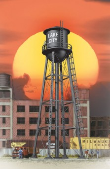 Walthers 2825 City Water Tower black