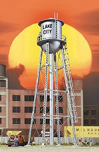 Walthers 2826 City Water Tower silver