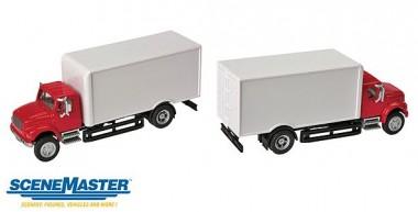 Scene Master 11291 International R 4900 Koffer rot/weiß