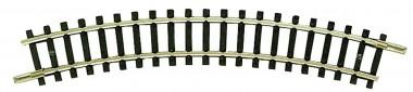 Fleischmann 22221 Gleis gebogen R1 194,6 mm 30°