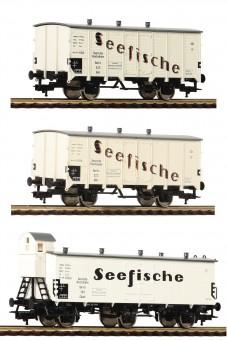 Fleischmann 538101 DRG Kühlwagen-Set 3-tlg Ep.2