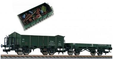 Fleischmann 591002 DB Müllwagen-Set 2-tlg Ep.4