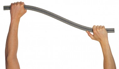 Fleischmann 6106 Gleis flexibel 800 mm