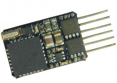 Fleischmann 685305 6-poliger Decoder gerade Stifte NEM 651