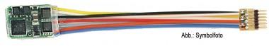 Fleischmann 685404 6-poliger Decoder mit Stecker NEM 651