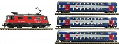 Fleischmann 734077 SBB Personenzug-Set 4-tlg Ep.6