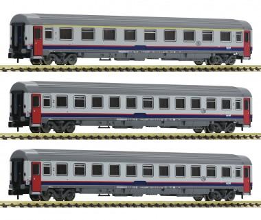 Fleischmann 814508 SNCB Personenwagen-Set 3-tlg. Ep.5