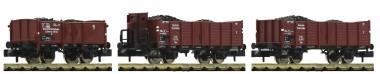 Fleischmann 820803 DRB offene Güterwagen-Set 3-tlg Ep.2