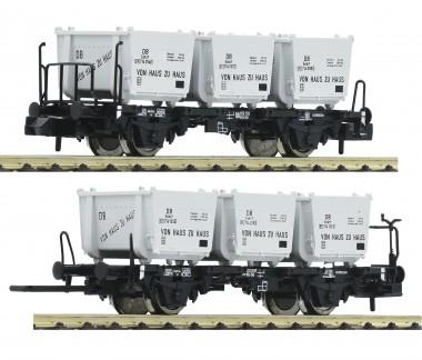 Fleischmann 823303 DB Behältertransportwg.-Set 2-tlg. Ep.3