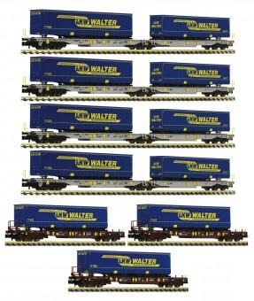 Fleischmann 825017 AAE Display 7-tlg. LKW Walter