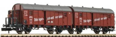 Fleischmann 830605 DRG Leig-Wageneinheit Ep.2