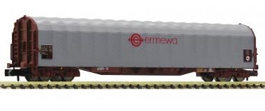 Fleischmann 837710 ERMEWA Schiebeplanenwagen 4-achs Ep.6