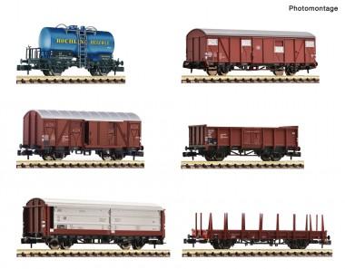 Fleischmann 880906 DB Güterwagen-Set 6-tlg. Ep.3/4