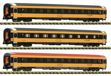 Fleischmann 881902 Regiojet Reisezugwagen-Set 3tlg. Ep.6