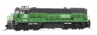 Arnold HN2317 BN Diesellok U28C Ep.4