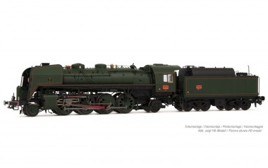 Arnold HN2482S SNCF Dampflok Serie 141R 1187 Ep.3
