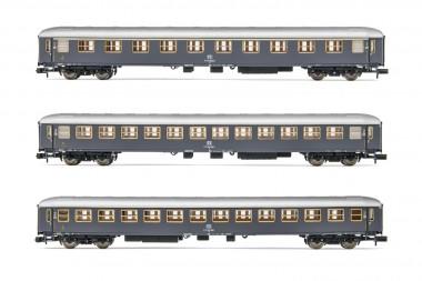 Arnold HN4316 FS Personenwagenset 3-tlg. 1./2.Kl. Ep.4