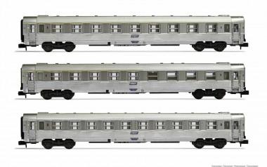 Arnold HN4338 SNCF Personenwagen-Set 3-tlg Ep.4