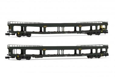 Arnold HN4346 SNCF Autotransportwagen-Set 2-tlg Ep.4