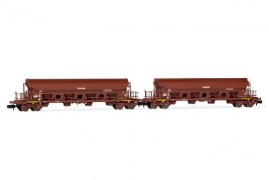 Arnold HN6392 DR Schwenkdachwagen-Set 2-tlg. Ep.4