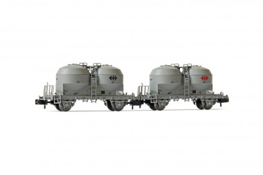 Arnold HN6427 SBB Zementsilowagen-Set 2-tlg. Ep.4