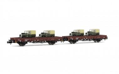 Arnold HN6434 DB Flachwagen-Set 2-tlg. Ep.4