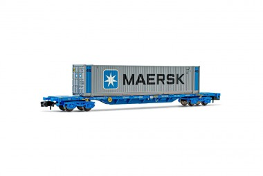 Arnold HN6441 RENFE Containertragwagen 4achs Ep.6
