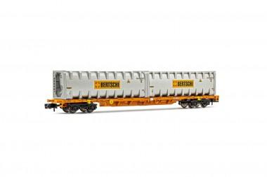 Arnold HN6443 WASCOSA Containertragwagen 4achs Ep.6