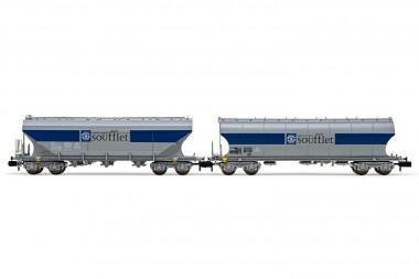 Arnold HN6510 SNCF Soufflet Silowagen-Set 2-tlg Ep.5/6