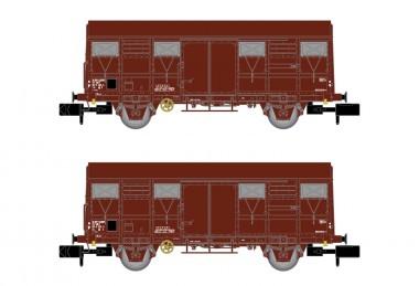 Arnold HN6516 SNCF gedeckte Güterwgagen-Set 2-tlg Ep.4