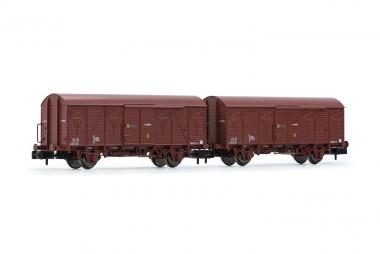 Arnold HN6520 RENFE gedeckte Güterwagen-Set 2-tlg Ep.4