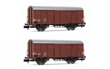 Arnold HN6521 DR gedeckte Güterwagen-Set 2-tlg Ep.4