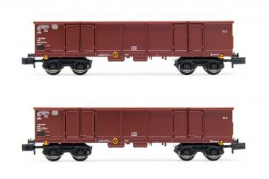 Arnold HN6533 DB offene Güterwagen-Set 2-tlg Ep.4