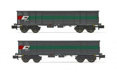 Arnold HN6534 STLB offene Güterwagen-Set 2-tlg Ep.5/6