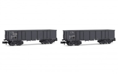 Arnold HN6535 SNCF offene Güterwagen-Set 2-tlg Ep.4