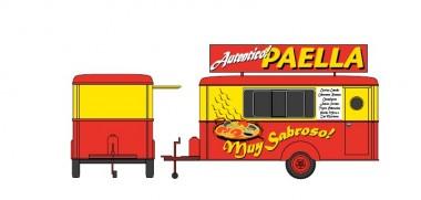 LimaEXPERT HC5003 Verkaufswagen Paella