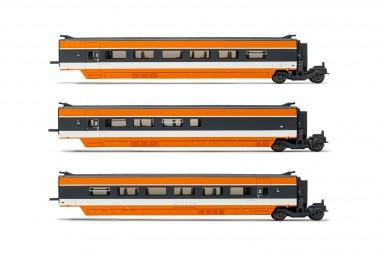 Jouef HJ3011 SNCF TGV Record Mondial Erg. 3-tlg  Ep.4