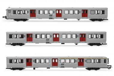 Jouef HJ4152 SNCF Personenwagen-Set RIB70 3-tl Ep.4/5