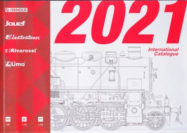 Rivarossi HP2021 Hornby International Katalog 2021