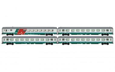 Rivarossi HR4274 FS Personenwagen-Set 4-tlg Ep.5