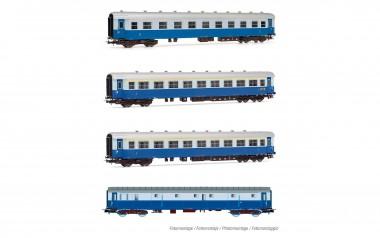 Rivarossi HR4275 FS Reisezugwagen-Set 4-tlg. Ep.3