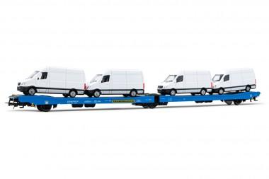 Rivarossi HR6500 Transwaggon Autotransporter Ep.5/6