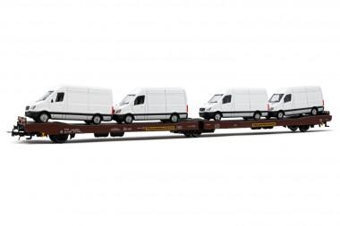 Rivarossi HR6501 Transwaggon Autotransporter Ep.5/6