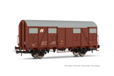 Rivarossi HR6510 FS gedeckter Güterwg. m. Schlussl. Ep.4