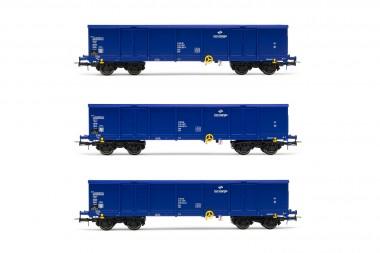 Rivarossi HR6536 PKP Cargo offene Güterwagen-Set Ep.5/6
